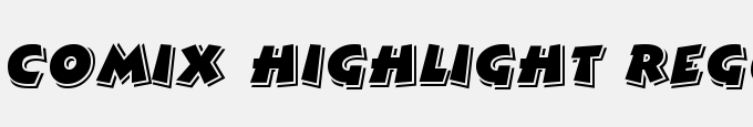 Comix Highlight Regular
