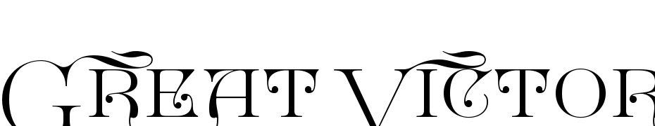 Great Victorian Swashed SC Font Download Free