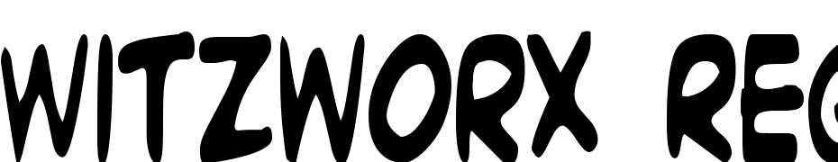 Witzworx Regular Font Download Free