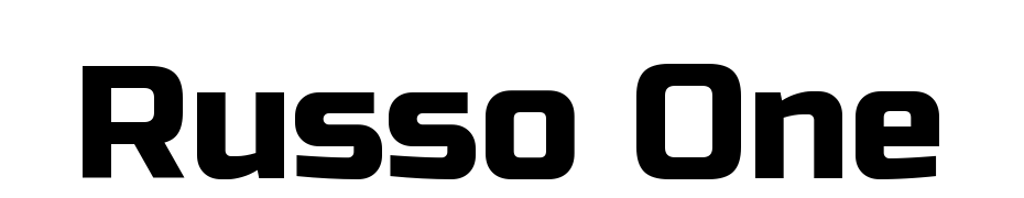 Russo One Font Download Free