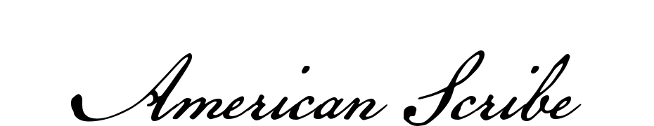 American Scribe Font Download Free