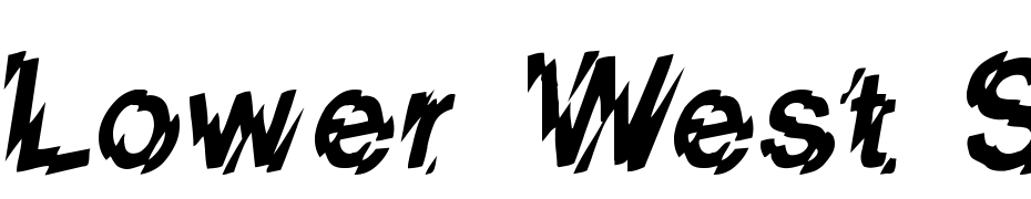 Lower West Side Font Download Free