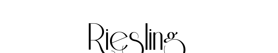 Riesling Font Download Free