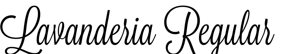 Lavanderia Regular Font Download Free