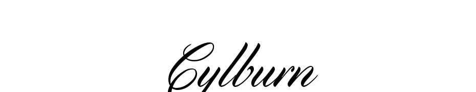 Cylburn Font Download Free